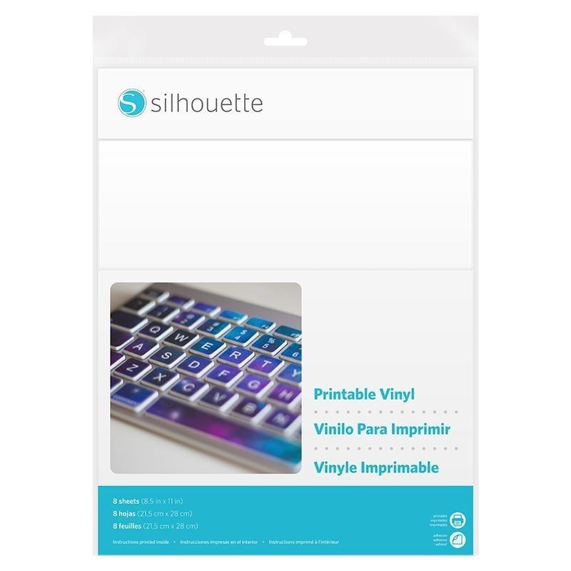 Hojas De Vinyl Imprimibles - Silhouette - Bs. 245,00 en Mercado Libre