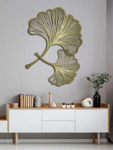 hojas decorativo para pared 100x70cm y 70x60cm maderatratada