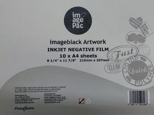 hojas imagepac original x 10 unidades.