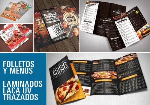 hojas membrete carpetas sobres tarjetas folletos etiquetas