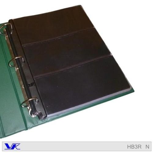 hojas para album de billetes x 10 unidades - marca vk