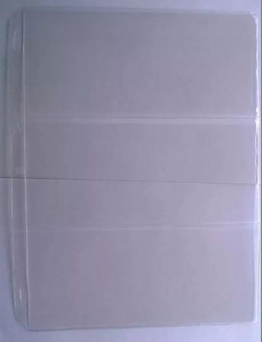 hojas para billetes antiguos colombianos tiene 3 divisiones