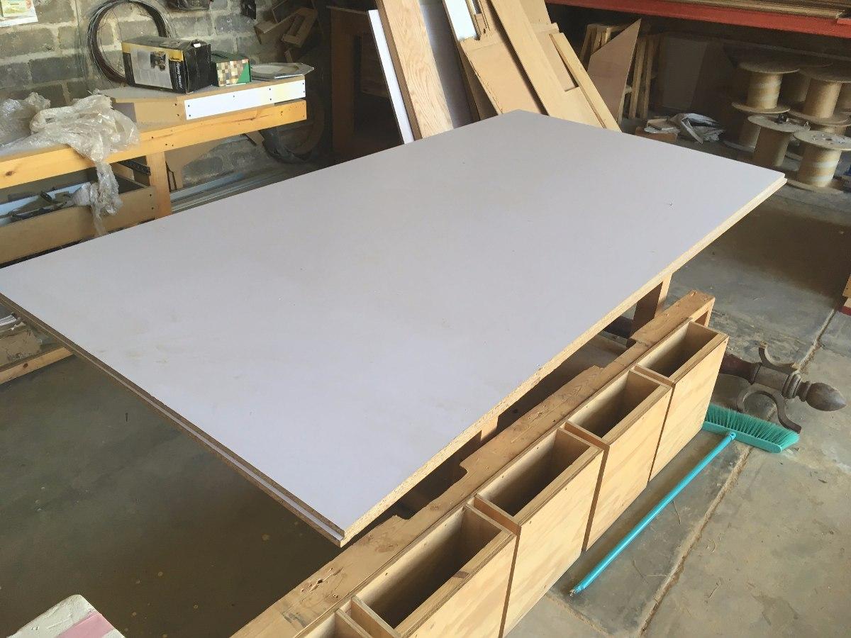 Hojas tableros de melamina blanca 122 x 244 16mm 2 caras - Precio tableros aglomerado ...
