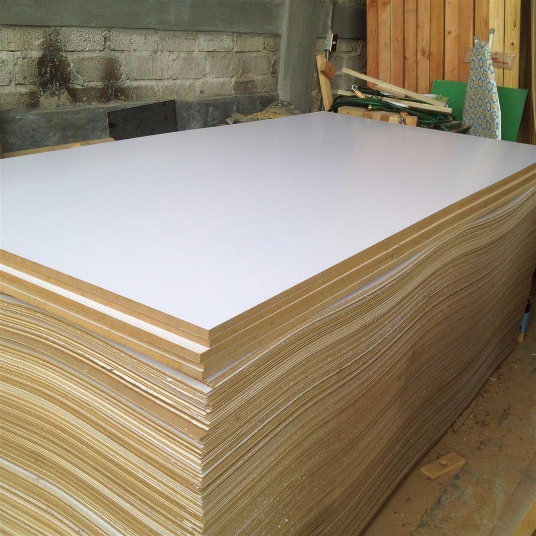 Hojas tableros de melamina blanca 122 x 244 16mm 2 caras - Tablero aglomerado precio ...