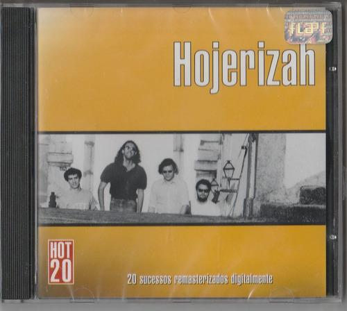 hojerizah - cd hot 20 sucessos - lacrado