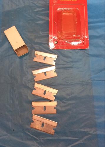 hojilla para escariador inst papel ahumado cajita 5 unid