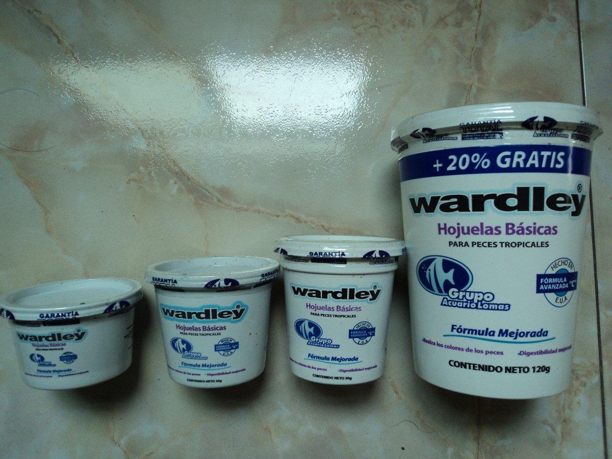 Hojuela para peces wardley 30g en mercado libre for Comida para peces