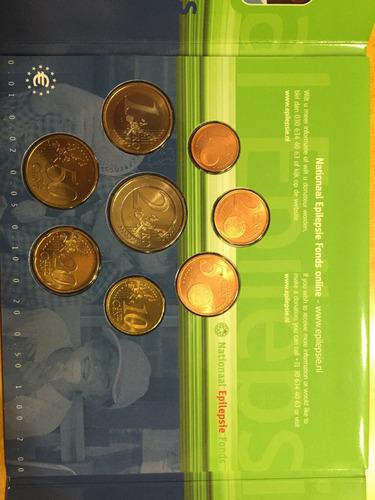 hol-s29 set 8 monedas holanda 2003 euros unc-bu ayff