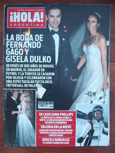 hola argentina 38 2/8/11 f gago g dulko boda s philips