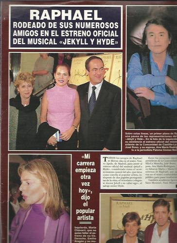 hola de españa raphael estreno musical jekyll y hyde