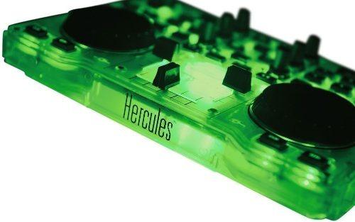 hola! hercules dj glow consola mixer mezcladora mp3 audio