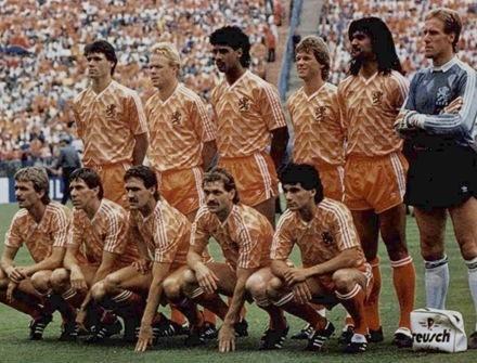 cce596fba6 Holanda 1988 Retro Eurocopa Mourasport - R  139