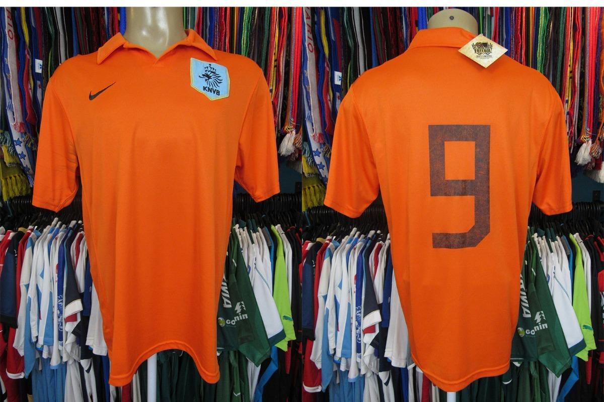 holanda 2006 camisa titular tamanho g número 9. Carregando zoom. d2a566f0ccea4