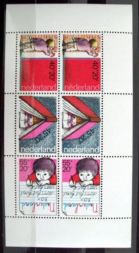 holanda, bloque sc. b550a ayuda infantil 1978 mint l5988