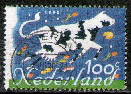 holanda sello usado productos holandeses para europa 1995