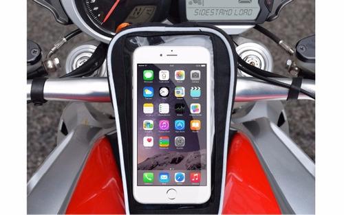 holder celular bike bag protección impermeable deporte viaje