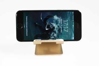 holder dock soporte stand celular aluminio premium + regalo
