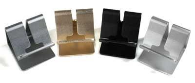 holder dock soporte stand celular tablet aluminio premium