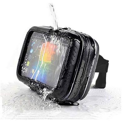 holder estuche impermeable - no agua celular moto bicicleta