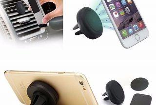 holder magnetico para celular paral ventilador de tu carro