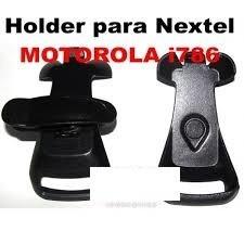 holder nextel i786w i786 compatible color negro plastico