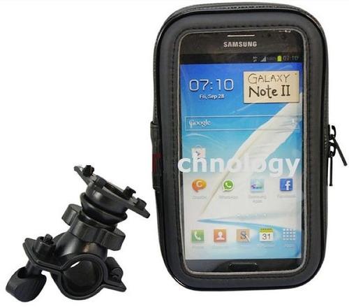 holder o soporte para celular con clavija para moto