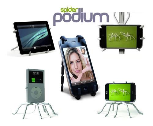 holder soporte p/ bicicleta spider podium iphone samsung lg