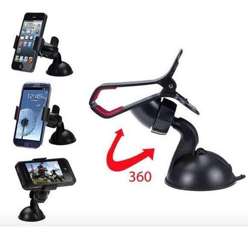 holder soporte universal celular p/ auto iphone 6 moto g g3