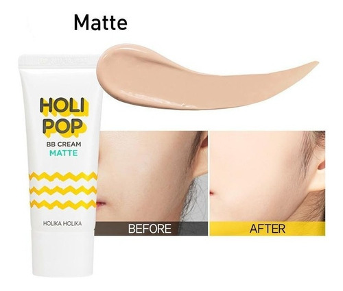 holi pop bb cream matte