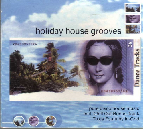 holiday house grooves - dance tracks -  cd -