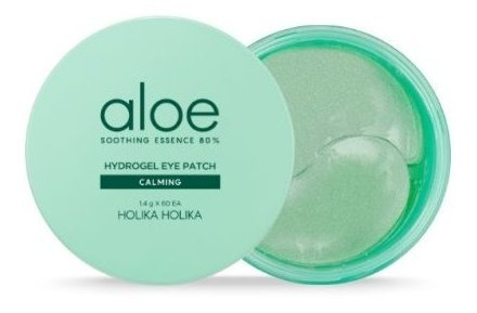 holika aloe 80% hydrogel eye patch parches ojos 30 pares