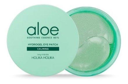 holika aloe 80% parches ojos  hidratantes hydrogel 30 pares