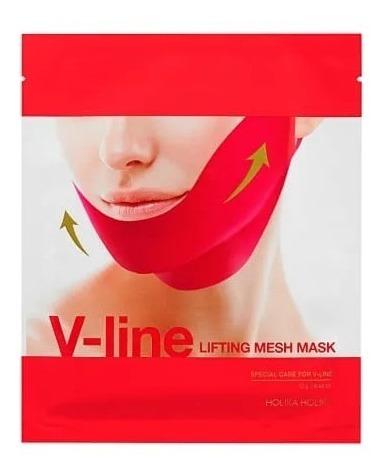 holika holika v line lifting mesh mask 1 pcs menton