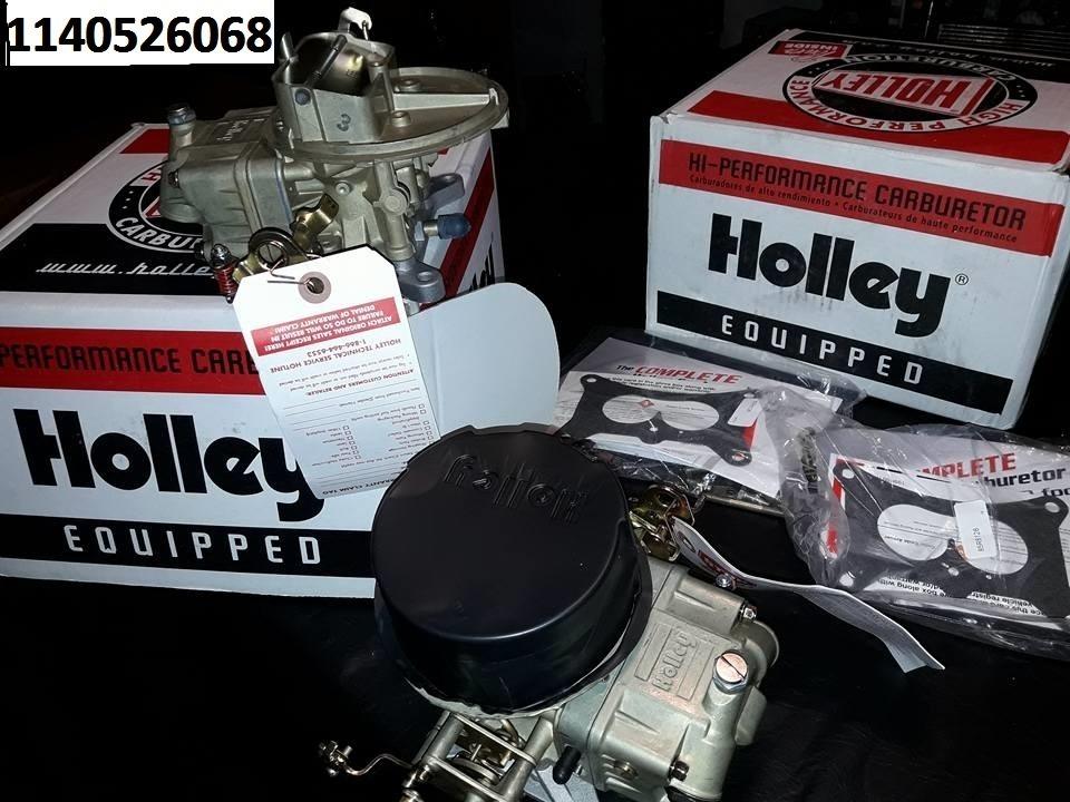 Holley 4412 De 500cfm 2 Bocas, Made In Usa, Y Mas Partes - $ 32 900,00