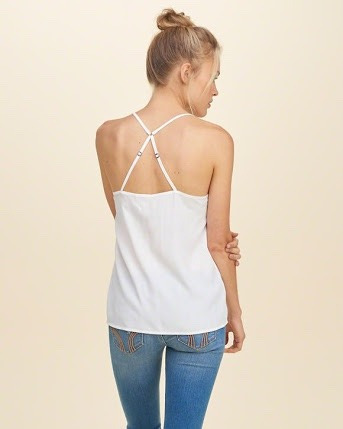 hollister must have easy woven cami