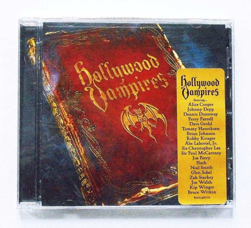 hollywood vampires - alice cooper johnny depp dave grohl cd