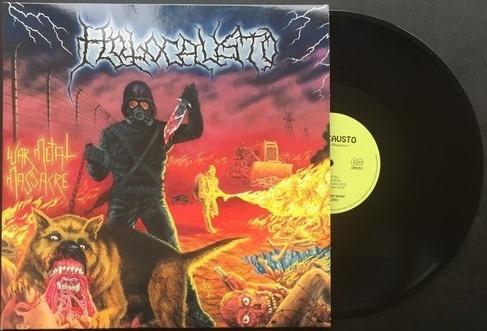 holocausto - war metal masacre (vinilo negro+inserto+poster)
