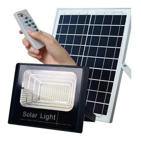 Holofote Refletor 40w Prova D'àgua Energia Solar Completo