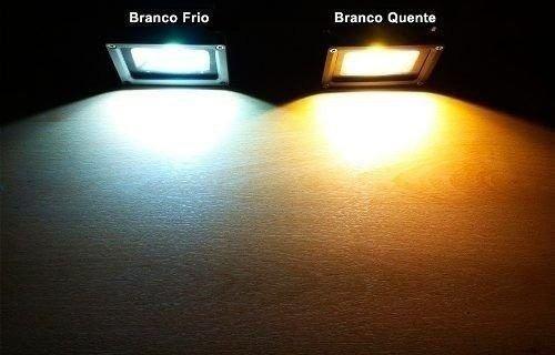 holofote refletor led 10w smd micro led bivolt premium