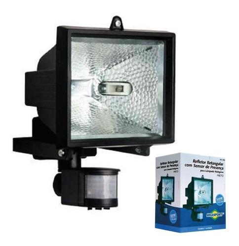 holofote refletor sensor presença loja bar sito chácara casa