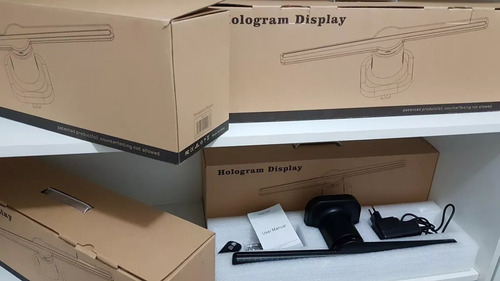 holograma display 3d hologram display