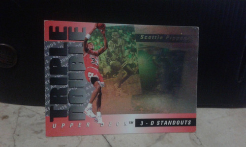 holograma upper deck 1993 scottie pippen