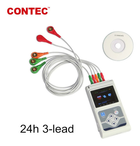 holter dynamic ecg system 3 canales