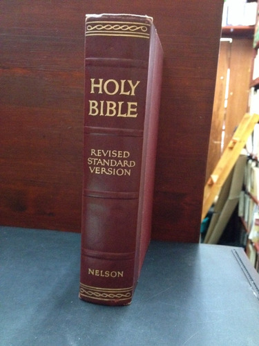 holy bible - revised standard versión - thomas nelson & sons