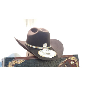19f88133f1244 Sombrero Texana Larry Mahan 5x Pelo De Conejo Tacoma Cafe