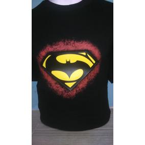 7285d967ada34 Playera Batman Vs Superman Con Luz Led Audioritmica