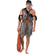 Caveman Disfraces - Adultos Guerrero Tarzán Vestido De Lujo