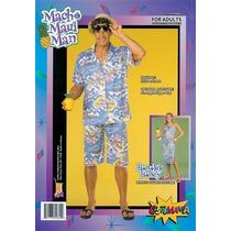 Disfraz Hawaiano - Camisa Para Hombre Y Pantalones Cortos De