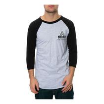 Ambig Para Hombre El Ninguna Opción De Béisbol Camiseta Gr