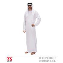 Traje Árabe - Xl Sheik (túnica Tocado) Vestido De Lujo